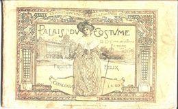 Palais Du Costume. Exposition Universelle De Paris 1900. Projet Félix. - Autres
