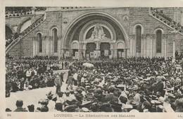 Lourdes - La Bénédiction Des Malades - Lourdes