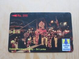GPT Phonecard 12SRLA Dalada Perahera Kandy Elephant, Used - Sri Lanka (Ceilán)