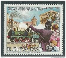 Burkina Faso P. A.  N° 319  XX  150ème Anniversaire Des  Chemins De Fer Allemands Sans Charnière, TB - Burkina Faso (1984-...)