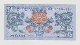 Bankbiljet Bhutan-bhoetan 1 Ngultrum 2013 27b UNC - Bhoutan
