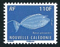 NOUV.-CALEDONIE 2013 - Yv. 1176 **   Faciale= 0,92 EUR - Poisson Dawa (Naso Unicornis)  ..Réf.NCE25715 - Nouvelle-Calédonie