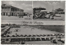 BARLETTA - BARI - SALUTI DA... - SPIAGGIA - VEDUTINE -45269- - Barletta