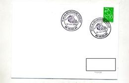 Lettre Cachet Vezelay 10 Ans Bourgogne - Storia Postale