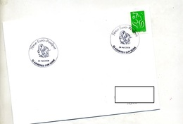 Lettre Cachet  Asnieres Sur Seine Euro-poulpot - Storia Postale