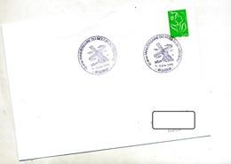Lettre Cachet  Saumur Moulin Du Vigneau - Storia Postale