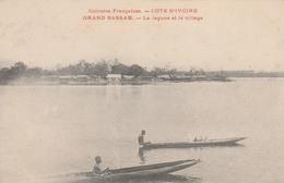 GRAND-BASSAM          La Lagune Et Le Village    TB PLAN  PAS COURANT - Côte-d'Ivoire