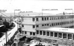 Carte 1956 Centre Apprentissage Public De Garços De St Amand Montrond : Façade Extérieure Pendant La Construction - Saint-Amand-Montrond
