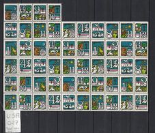 Etats-Unis - USA - 54 étiquettes De Noël - 54 Cinderellas Christmas Label - Varietà, Errori & Curiosità