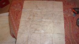 NAPOLEON III XIX EME GRANDE  CARTE MANUSCRITE SUR CALQUE   MEXIQUE MICHIOCAN  1865 MAPA MEXICANA - Roadmaps