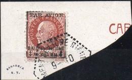 !!! PRIX FIXE : POSTE AERIENNE MILITAIRE N°3 SUR FRAGMENT CACHET BATIMENT DE LIGNE RICHELIEU - Poste Aérienne