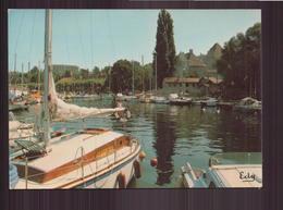 THONON LES BAINS LE PORT ET LE CHATEAU DE RIVES 74 - Thonon-les-Bains