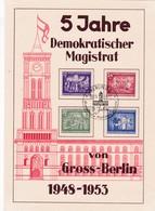 DDR, 5 Jahre Demokratischer Magistrat (KA 143a) - Gebraucht