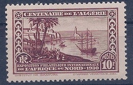 ALGERIE - 100  10F CENTENAIRE NEUF** MNH LUXE COTE 30 EUR - Unused Stamps