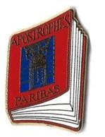 AB - P29 - PARIBAS  - APOSTROPHES- Verso : ARTHUS BERTRAND / PARIS - Arthus Bertrand