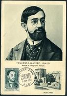 TOULOUSE-LAUTREC, Peintre N°YT1171 - 1950-59