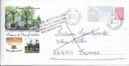 PUY DE DOME 63 -  HERMENT  - CACHET RECETTE R A9 - 2006 -  CATALOGUE A. LAUTIER - BELLE FRAPPE - Manual Postmarks