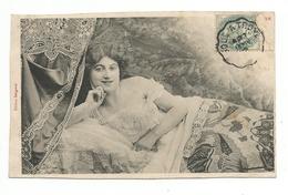 FEMMES - FRAU - LADY - Jolie Carte Fantaisie Jeune Femme  BERGERET - Femmes