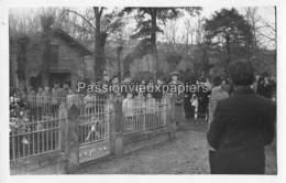 CARTE PHOTO BORT L'ETANG MONUMENT AUX MORTS GROUPE D'ECOLIERS (garçons)? - Frankreich