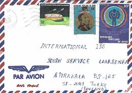 Benin 1992 Ouidah Martin Luther King Balafon Instrument Child Year IYC Cover - Martin Luther King