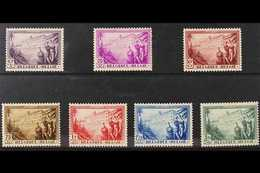 1932 Anti - Tuberculosis Complete Set, Cob 356/62, SG 624/30, Never Hinged Mint (7 Stamps) For More Images, Please Visit - Belgium