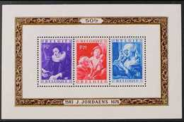1949 Social & Cultural Fund Miniature Sheet, Cob BL 27, SG MS1261, Never Hinged Mint For More Images, Please Visit Http: - Belgium