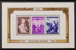 1949 Social & Cultural Fund Miniature Sheet, Cob BL 28, SG MS1260, Never Hinged Mint For More Images, Please Visit Http: - Belgium
