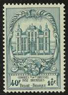 1952 40fr + 10fr Blue Green UPU Congress, COB 891, Never Hinged Mint. For More Images, Please Visit Http://www.sandafayr - Belgium