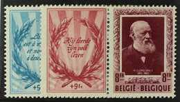 1952 Cultural Works Charity Se- Tenant Pairs Set, COB 898/9, Never Hinged Mint. (2 Stamps) For More Images, Please Visit - Belgium