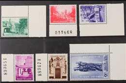 1954 Beguinage Of Bruges Restoration Fund Set, Cob 946/51, SG 1534/39, Marginals Never Hinged Mint (6 Stamps) For More I - Belgium