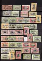 CONGO 1887 - 1983 Fine Used Range Of Early 1900s Value To 10fr With Some Cancellation Interest, Incl Scarce 3fr 50 Vermi - Belgium