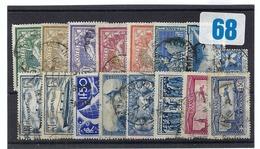 FRANCE  1906-45:   Lot De Timbres Semi-classiques Oblitérés - Unclassified