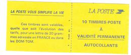 2087-C2 La Poste Vous Simplefie La Vie  Marianne De Briat - Usage Courant
