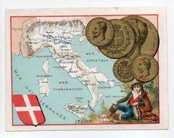 - IMAGE PIECES DE MONNAIE D'ITALIE - - Old Paper