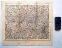 ©1916 FLIEGERKARTE TOURNAI CARTE DE PILOTE ALLEMAND D AVION GUERRE 1914-18 OORLOG DUITSE KAART VAN VLIEGTUIG PILOOT R424 - War 1914-18