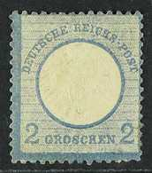 1872 2g Blue Eagle With Small Shield (SG 6, Michel 5), Mint, Toned Gum, Cat £2,500. For More Images, Please Visit Http:/ - Germany