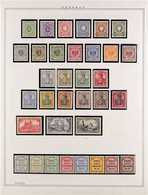 1880-1918 ATTRACTIVE MINT COLLECTION In Hingeless Mounts On Leaves, All Different, Includes 1880 Set, 1889-1900 Set, 190 - Germany