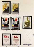 """1900(circa) - 1972 SPORTS CINDERELLAS A Most Interesting Collection Of Poster Stamps & Cinderellas Featuring """"Sports"""" Pr - Germany"""