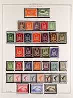 1919-1944 ATTRACTIVE VERY FINE MINT COLLECTION In Hingeless Mounts On Leaves, All Different, Some Stamps Are NEVER HINGE - Germany