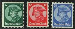 1933 Opening Of The Reichstag Complete Set (Michel 479/81, SG 490/92), Never Hinged Mint, Very Fresh. (3 Stamps) For Mor - Germany