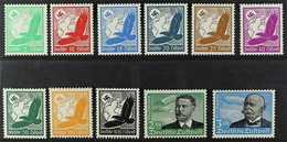 1934 Air Complete Set (Michel 529/39, SG 526/36), Never Hinged Mint, Very Fresh. (11 Stamps) For More Images, Please Vis - Germany