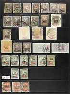 GERMAN AREAS, PLEBISCITE TERRITORIES AND OCCUPATIONS 1910's-1940's INTERESTING MINT & USED COLLECTION On Stock Pages, In - Germany
