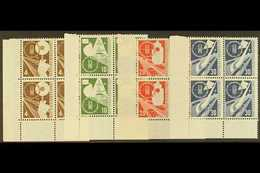 1953 Transport Exhibition Complete Set (Michel 167/70, SG 1093/96), Superb Mint (lower Pairs Never Hinged) Lower Left Co - [6] Democratic Republic