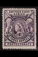 1895 3r Deep Violet, Queen Victoria, SG 94, Very Fine Mint. For More Images, Please Visit Http://www.sandafayre.com/item - Vide