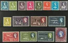 1960-62 Complete Definitive Set, SG 183/198, Never Hinged Mint. (16 Stamps) For More Images, Please Visit Http://www.san - Vide