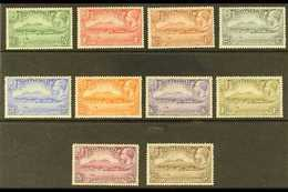 1932 300th Anniversary Of Settlement Complete Set, SG 84/93, Very Fine Mint, Fresh. (10 Stamps) For More Images, Please  - Montserrat