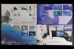 ROSS DEPENDENCY 2010-2015 Complete Run Of Sets (2010 Whales To 2015 Centenary) On Illustrated And Unaddressed FIRST DAY  - New Zealand