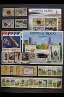 1980-2007 SUPERB NEVER HINGED MINT COLLECTION A Magnificent All Different Collection With A Very High Level Of Completen - Norfolk Island