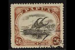 1910-11 2s6d Black & Brown Lakatoi Type C, SG 83, Fine Cds Used, Fresh. For More Images, Please Visit Http://www.sandafa - Papua New Guinea
