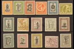 1932-40 PICTORIALS. An Attractive & Complete Pictorials Set, SG 130/145, Very Fine Mint (16 Stamps) For More Images, Ple - Papua New Guinea